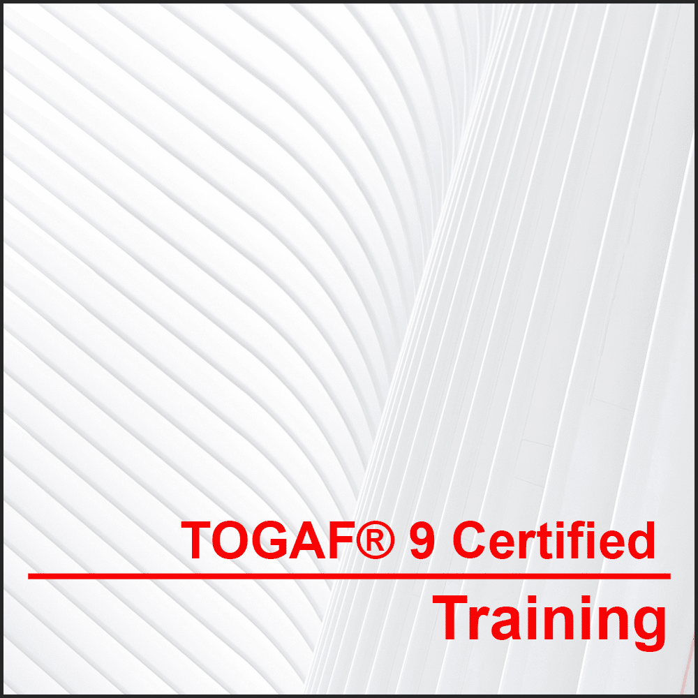TOGAF® 9 Certified Training (Classroom) The most used Enterprise Architecture framework in the world. We will get you ready for certification in only 4 days!