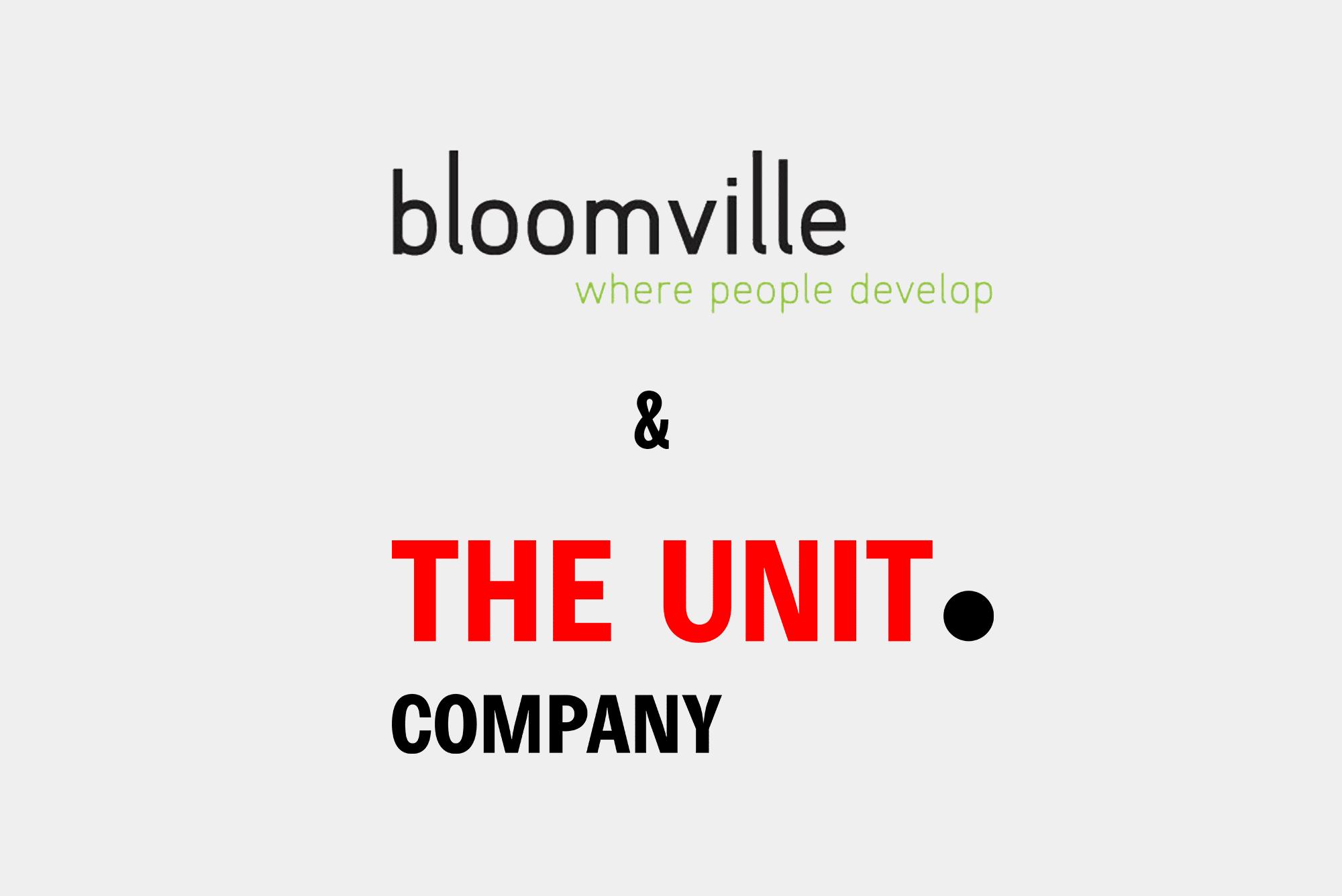 Samenwerkingsverband The Unit Company & Bloomville Inschrijven voor een training is nu nòg gemakkelijker!