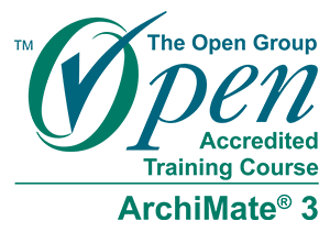 The ArchiMate® 3 Training if The Unit Company is accredited byThe Open Group