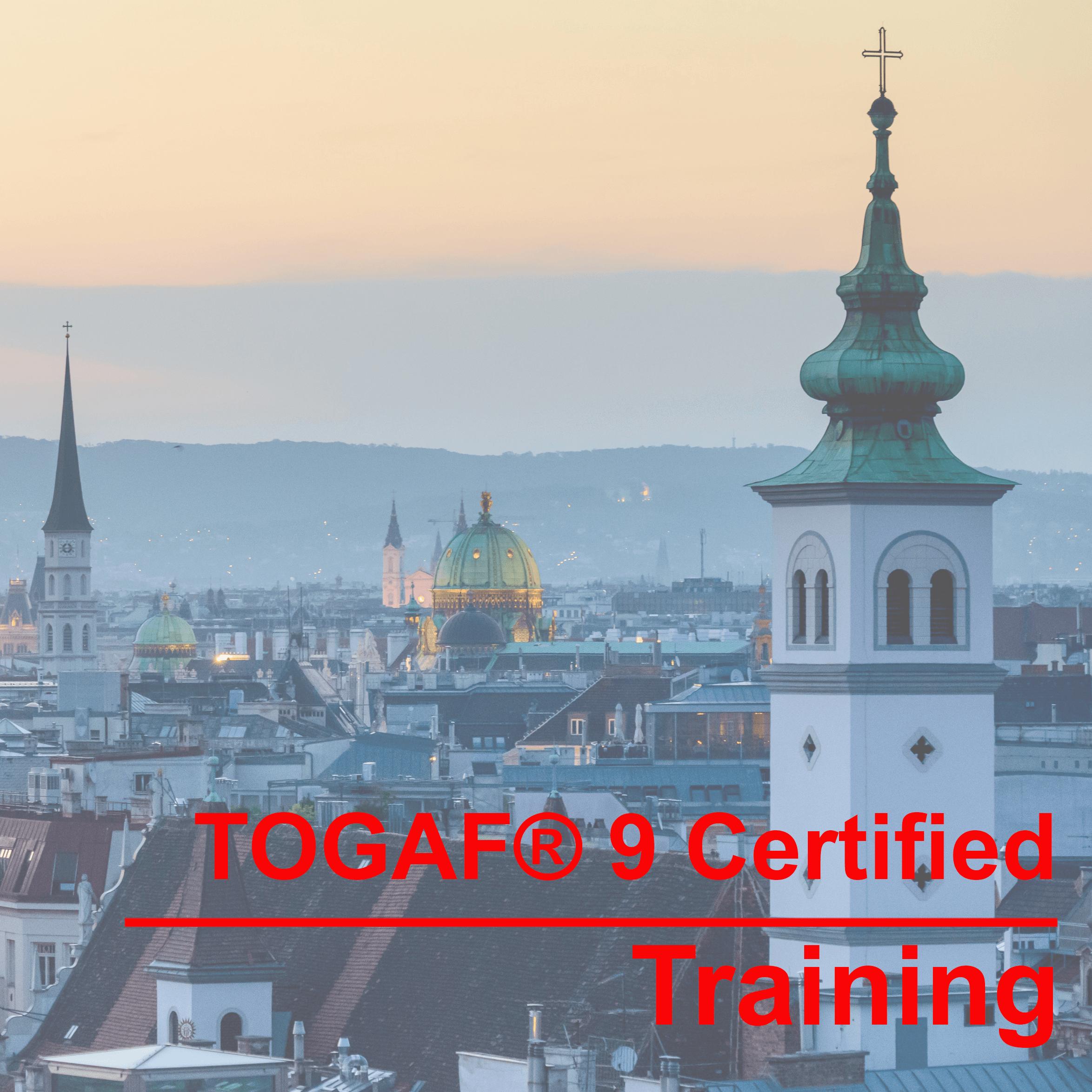 TOGAF® 9 Certified Training in Zurich Das am weitesten verbreitete Enterprise Architecture Framework der Welt. Wir bereiten Sie in 4 Tagen auf die Zertifizierung vor!