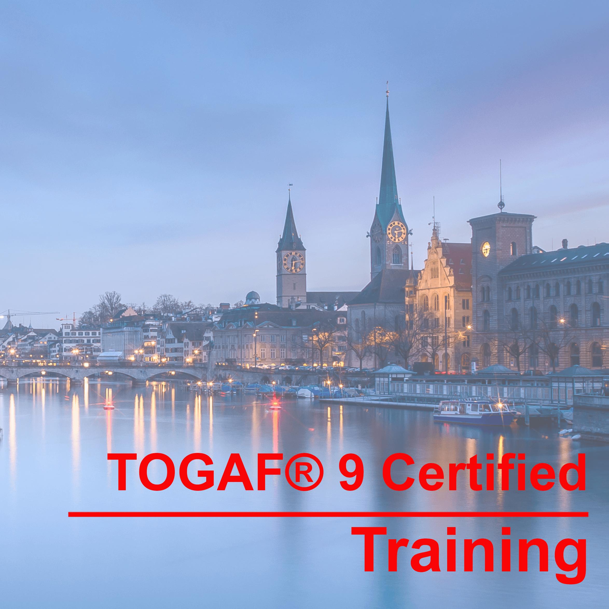 TOGAF® 9 Certified Training Vienna Das am weitesten verbreitete Enterprise Architecture Framework der Welt. Wir bereiten Sie in 4 Tagen auf die Zertifizierung vor!