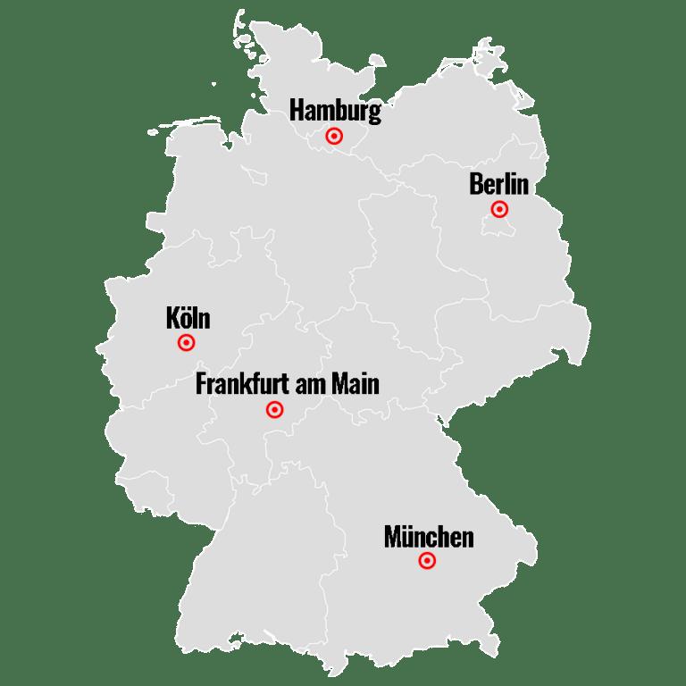 Deutschsprachiges TOGAF-Training in Hamburg, Berlin, Köln, Frankfurt am Main und München.