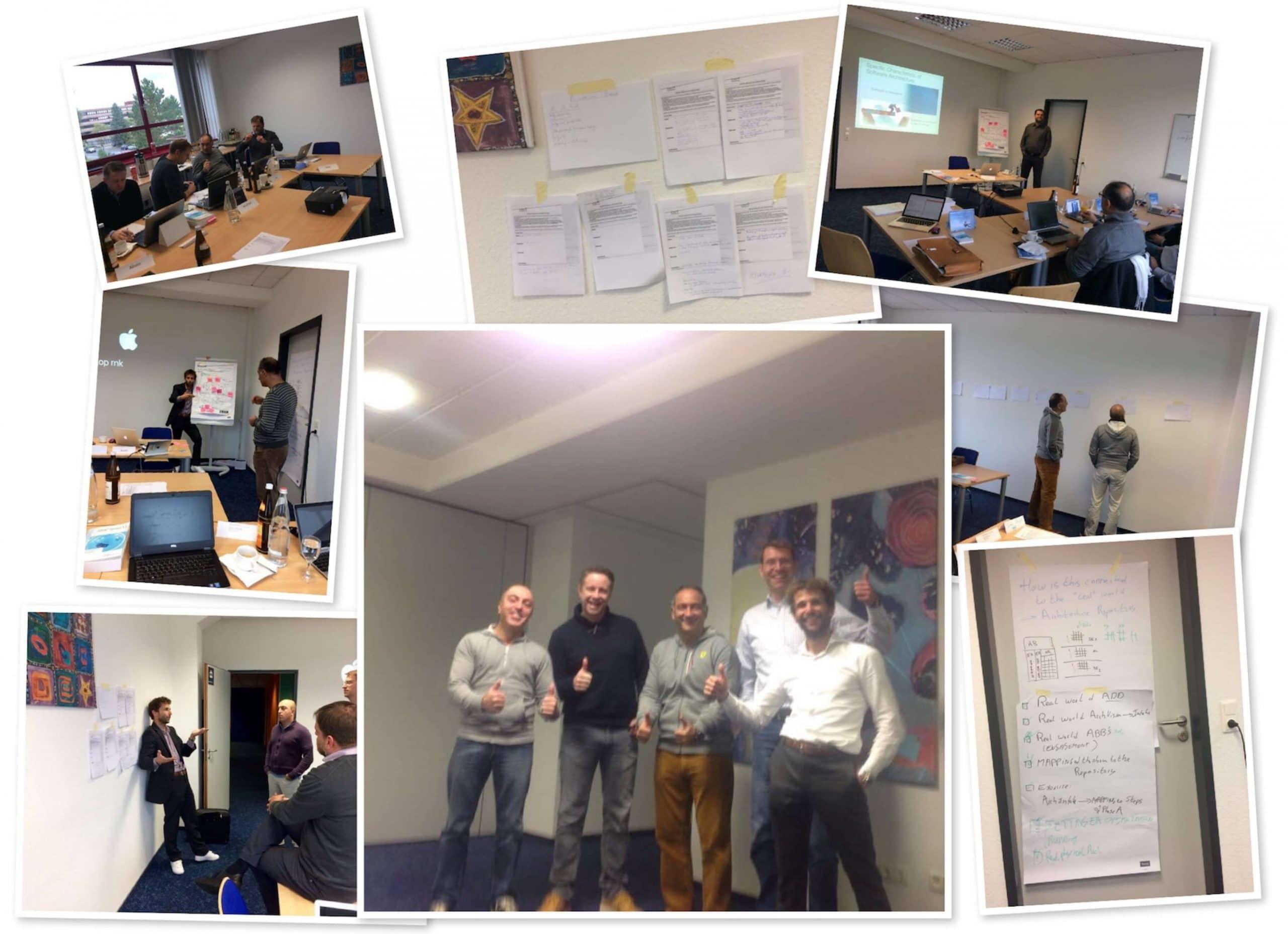 Erste TOGAF® Training Lieferung Frankfurt