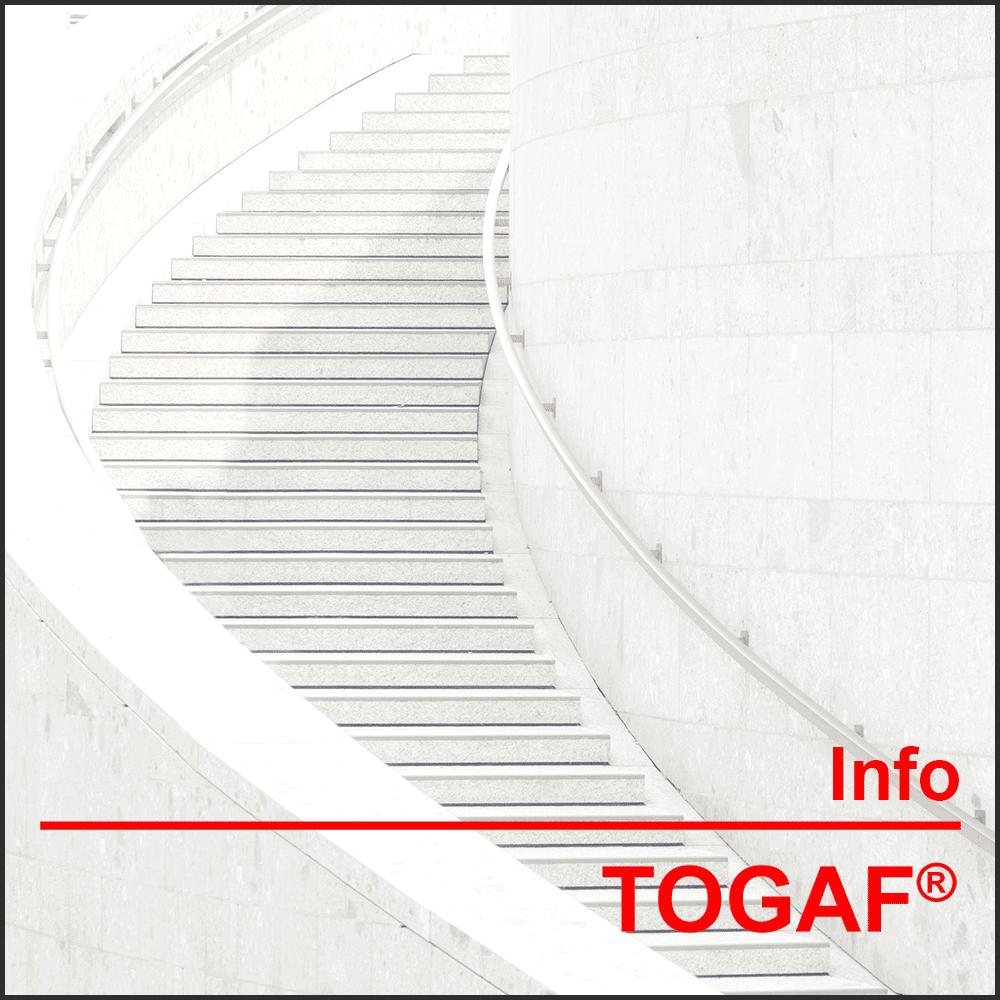 Allgemeine Informationen TOGAF® Mehr über TOGAF® 9.2, die Schulung und Ihren Weg zur Zertifizierung erfahren Sie hier