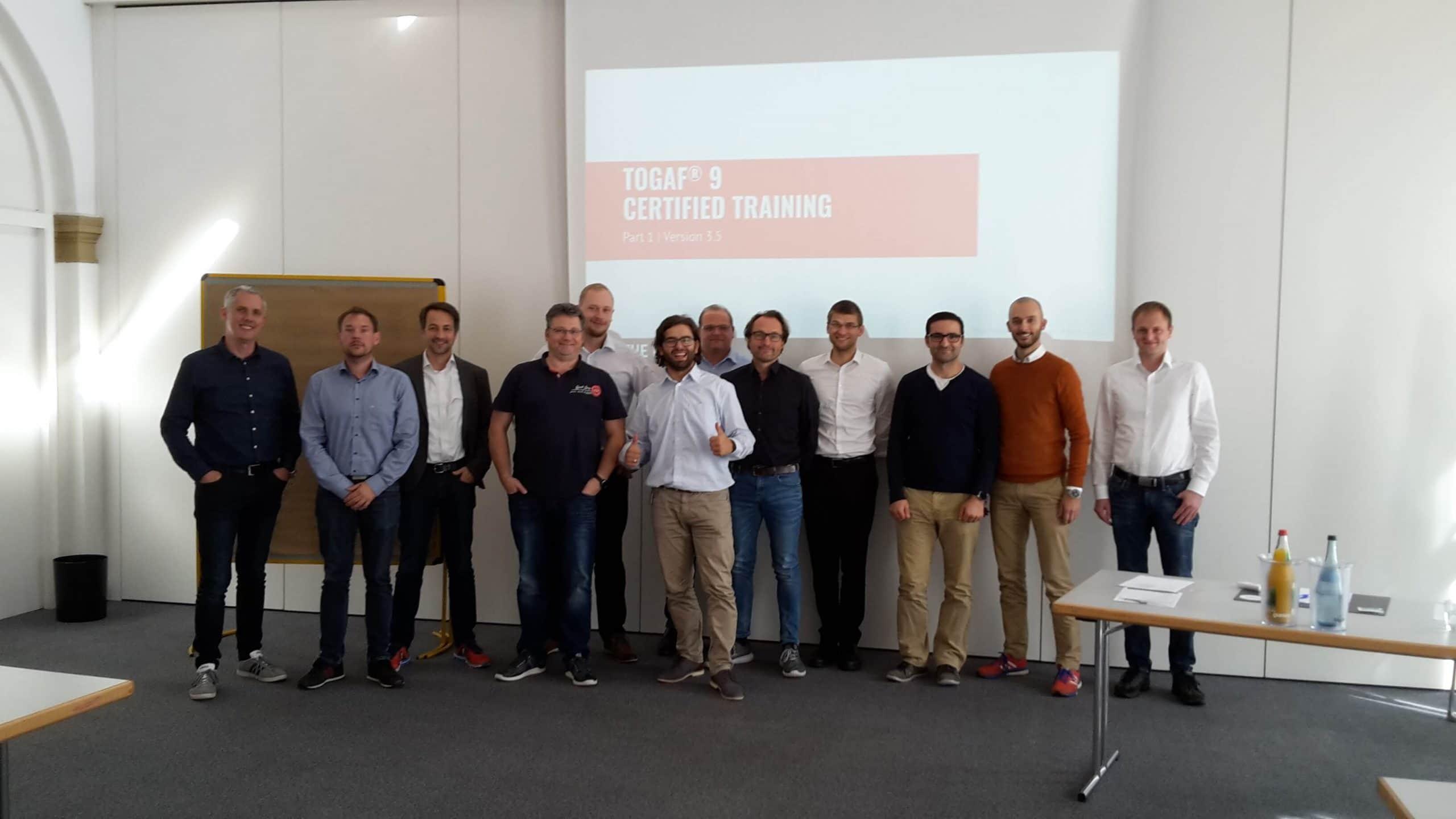 TOGAF® 9.2 September 2019 Ludwigsburg MHP incompany Zweite Inhouse-Schulung für MHP