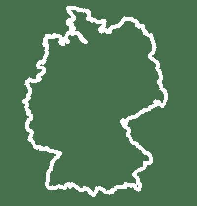 5 Standorte in Deutschland